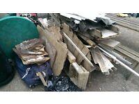 Scrap/Wood for burning