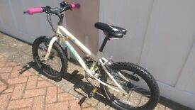 Girls (5 to 9 yrs) Bike For sale , Vey good condition 18 inch tyre , Mountain bike frame