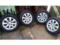 vauxhall astra alloy wheels