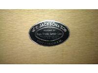 W.E. jackson and son steamer trunk