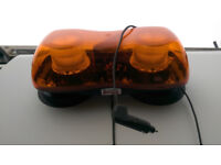 Magnetic recovery amber beacon strobe