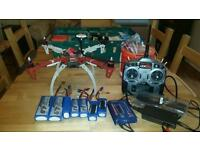 DJI F450 quadcopter RTF with lots of accessories