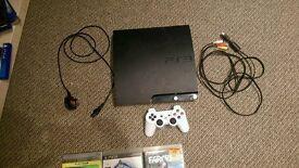 PlayStation 3 160gb. 9 games. Ps3