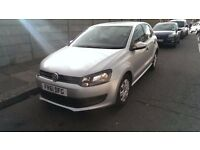Volkswagen Polo 2012 - 61 plate, 1.4 Petrol, Manual, 31k mileage, CAT D (rear damage), family car
