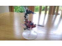 Warhammer 40000 Dark Eldar Talos with stand