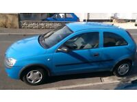 Vauxhall Corsa 1.0 Expression 12V 3 Door - Low mileage - New MOT