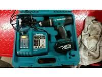 Makita 18v cordless drill kit