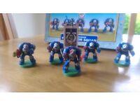 Warhammer 40000 Space Marine terminator squad x 2