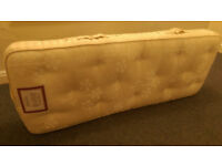 LUXURY VI-SPRING SMALL MATTRESS size 2.4 ft6 (approx 70cmx184cm)