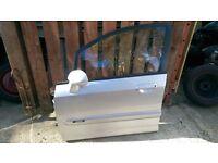 honda jazz front passenger side door in silver 2001-2005