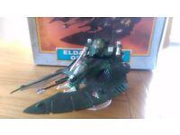 Warhammer 40000 Eldar Falcon Grav tank with box