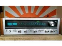 Vintage Pioneer SX-636 Receiver Amplifier, reconditioned.