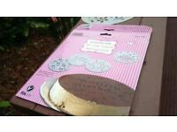 4 Piece cake stencil - professional looking cakes every time. For all special occasion...