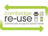 Volunteer Admin Assistant at Cambridge Re-Use