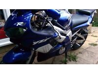 2000 Yamaha R6 carb model blue/white low mileage FREE DELIVERY UK