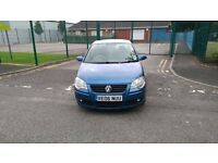 VW POLO 1.4 BLUE 5 DOOR 53K GENUINE MILES, JUST HAD 12 MONTHS M.O.T, GOOD TYRES ALL AROUND £1550