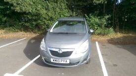 2010 Vauxhall Meriva 1.4 i 16v S 5dr , Great car with low mileage and complete service history.