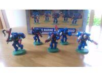 Warhammer 40000 space marine Assault squad