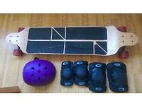 Osprey Longboard, Helmet, Knee & Elbow Pads
