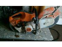 Stihl ts480i saw fuel injected rare