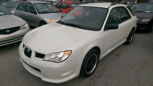 2007 SUBARU IMPREZA AWD,NO ACCIDENTS,LOW KM,RARE PEARL WHITE!!!!