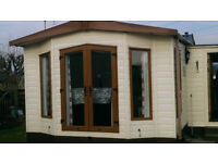 Beautiful residential static caravan on quiet site for sale