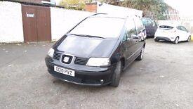 SEAT Alhambra 2.0 TDI Ecomotive 5dr Black (Service History)