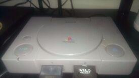 Playstation 1 + 20 games