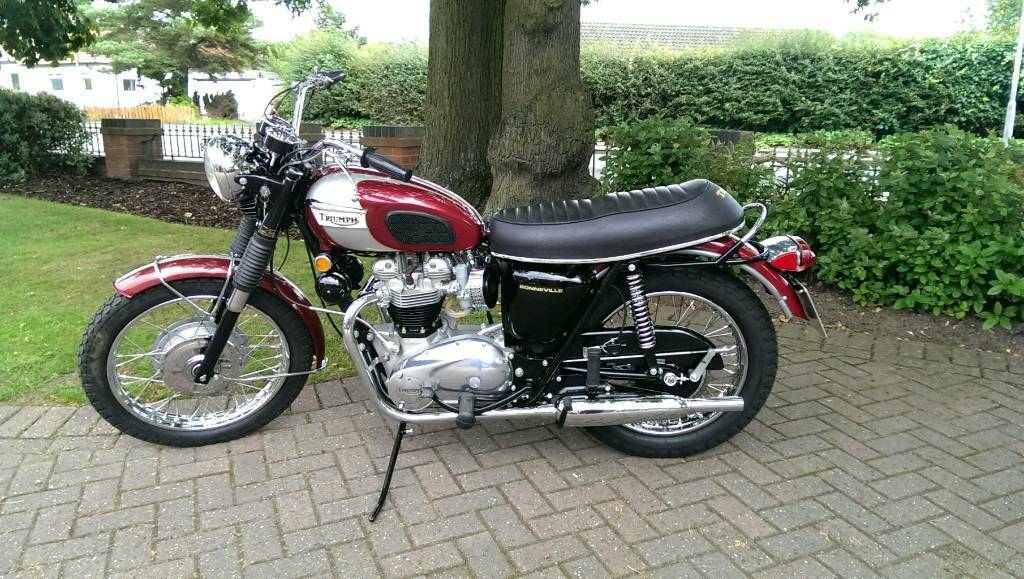 Triumph Bonneville T120r 1970 Classic Motorcycle In Walsall West