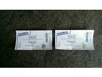 2x Barenaked Ladies Liverpool 7/09/16