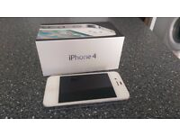 Apple iPhone 4 16GB White - excellent condition