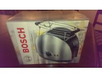 Brand new sealed in box- Bosch Tat6901Gb Toaster - Stainless Steel