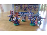 Warhammer 40000 Space Marine Command Squad