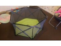 baby playpen for sale with free baby girl clothes