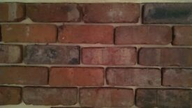 reclaimed brick slips/tiles