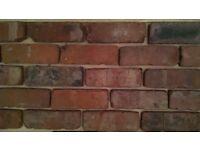 reclaimed brick slips/tiles