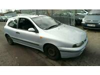 2001 FIAT BRAVO 1.2 SX 3 DOOR 2 KEYS * like ford fiesta focus puma 206 clio vw polo golf bravo punto