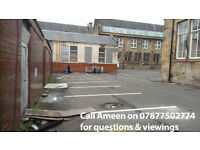 Cheap ground floor warehouse, unit, workshop, needs some internal tlc, glasgow, cessnock