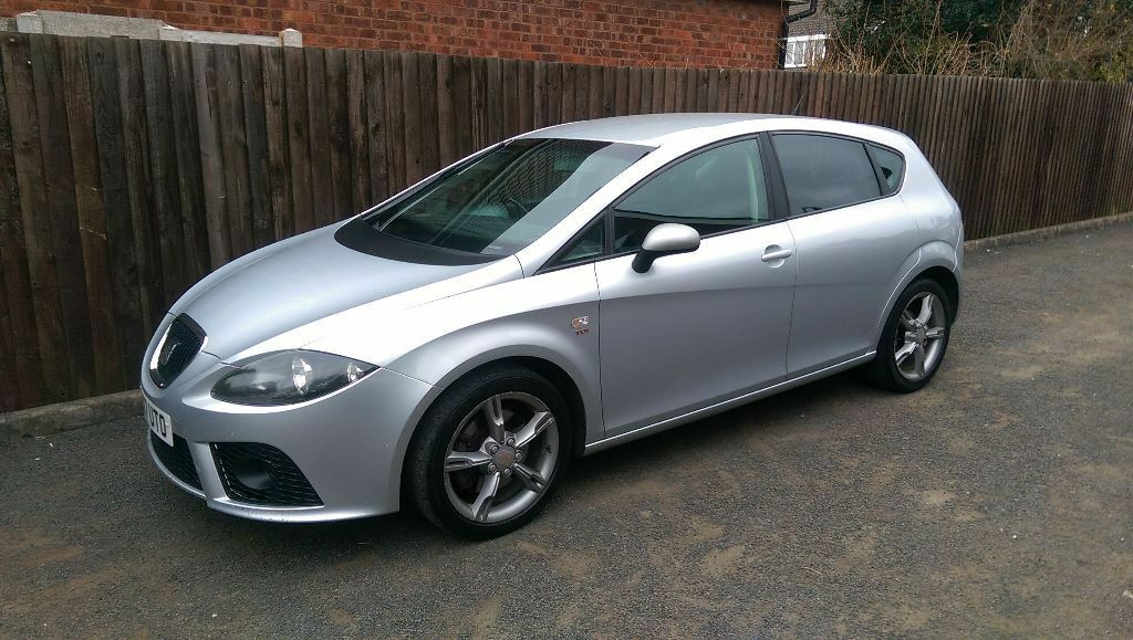 2007 seat leon 2 0 tdi fr 6 speed manual 200 bhp silver 3. Black Bedroom Furniture Sets. Home Design Ideas