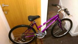 Ladies bike with 26 wheel size.