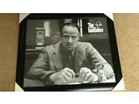Godfather framed photo of Marlon Brando