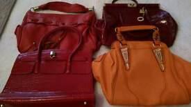 Handbag bundle x 4