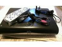 Sky HD box with unused remote and cables