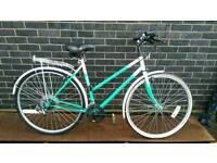 Ladies Town bike Hybrid Peugeot