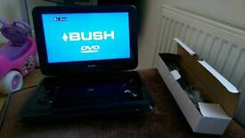 "Spares or repairs. Bush 12"" portable DVD player"