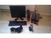 Dell OptiPlex 780 Ultra Small Form Factor Desktop PC - 4GB RAM 250GB HDD Win7 +Monitor+ Speakers+M/K