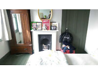 large double room - with new garden!