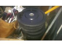 Olympic weights bumper plates 150kg