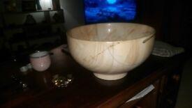 Big marble bowl
