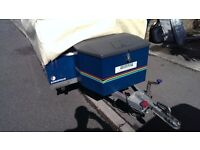 Raclet Acropolis Trailer Tent with two awnings and working cooker